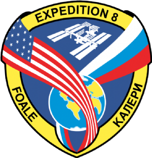 Expedition 8 mission decal